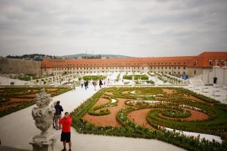 Garten auf der Rückseite