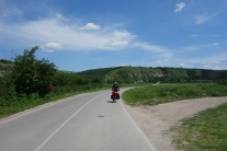 ruhige Verkehrslage hier in Bulgarien