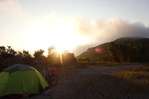 Toller Sonnenaufgang da steht man auch im Urlaub mal um 5 auf