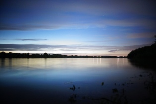 Die Donau bietet wie immer eine tolle Atmosphäre