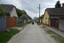 Heizen durch Ungarische Dörfer