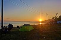 Grandioser Sonnenaufgang am Schwarzen Meer
