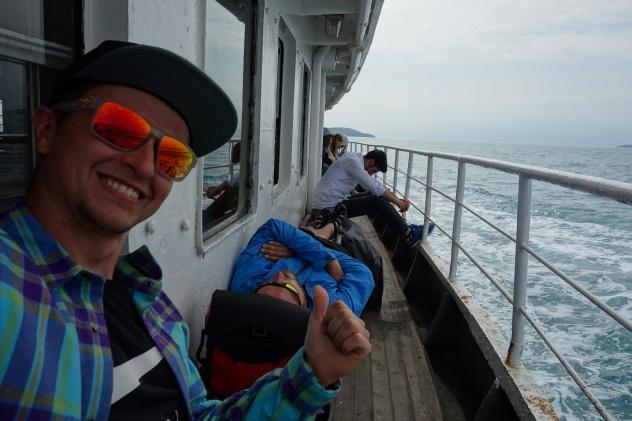 Auf dem Weg zurück nach Istanbul
