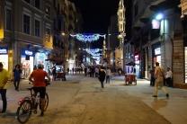 Eine bekannte Einkaufsstraße in der nähe des Taksimplatzes