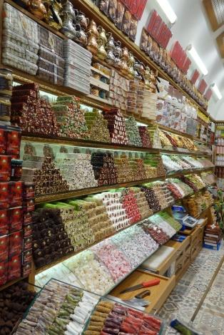 Süßigkeiten in allen formen