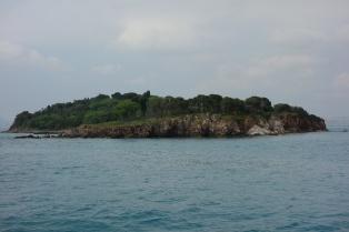 Eine weitere kleine Insel auf unserem Rückweg