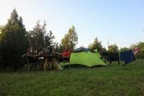 Das erste mal seit Beginn unserer Reise haben wir auf einem Zeltplatz übernachtet
