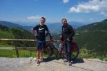 Zusammen mit Taner auf dem Zigana Pass