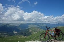 Oben auf dem Plateau auf ca. 2300m hatte man ein Grandiose Aussicht