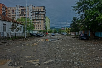 Nebenstraßen in Batumi