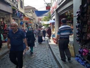 Einkaufstraße in Trabzon