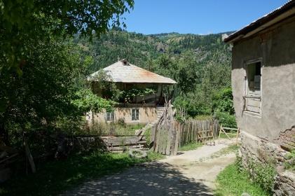 Wir passiert viele kleine Dörfer auf dem Weg nach oben