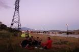 Mit unseren Georgischen Freunden an der Flaniermeile in Achalziche