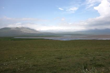 Der See auf 2200m wo wir eigentlich Zelten wollten