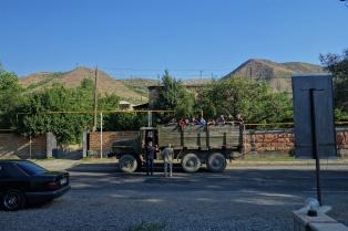 Offentliche Verkehrsmittel in Armenien