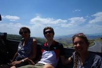 Unsere Schweizer Familie aus Bern war auch Sichtlich Happy sich ein paar Höhenmeter zu sparen