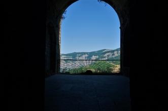 Blick aus dem Bischoffszimmer