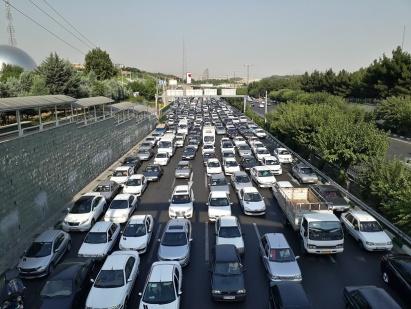 Alltägliches Bild hier in Teheran