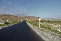 Es ging ziemlich entspannt dahin auf unserem Weg nach Jolfa mit nur wenigen Bergen.