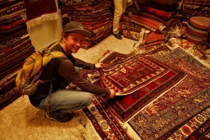 Auf dem Teppich Basar