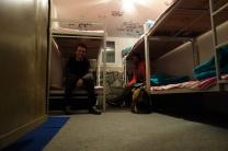Unser Schlafquartier auf der Shirpala Hütte