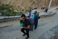 Auf dem Weg nach oben mit Hassan, Sohre und Hasti