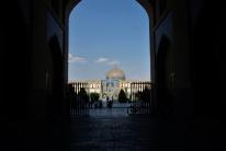 Blick auf dem Imam Square in Isfahan