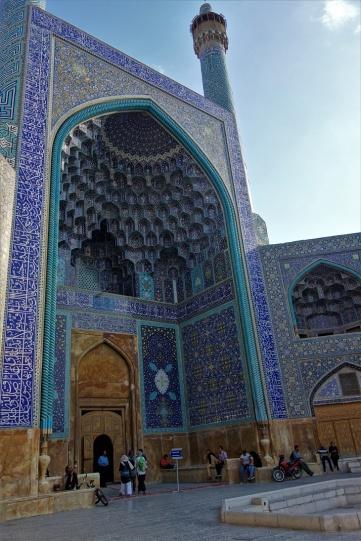 Eingang zur großen Moschee in Isafahan
