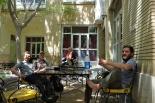 Mit Hans aus Münster haben wir den ganzen Tag im Hostel verbracht schön war es !!!