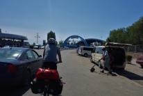 Kurz vor dem Grenzübergang nach Kirgisistan