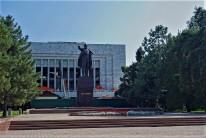 Der Lenin Platz in Bishkek