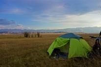 Es gibt schlechtere Zeltplätze auf der Welt