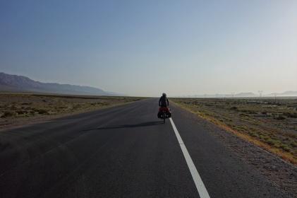 So sah es für uns 1,5 Wochen aus entlang der Taklamakan Wüste