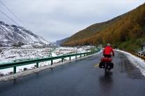 Tolle Winterlandschaft auch wenn es schon wieder taute auf dem Weg nach oben