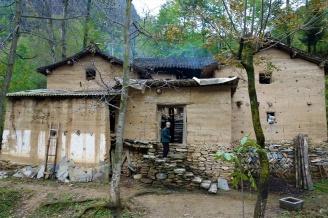 Einfaches Chinesisches Haus im Qinling Gebirge