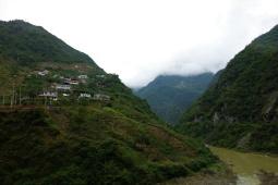 Abgelegene Ortschaften im Qinling Gebirge