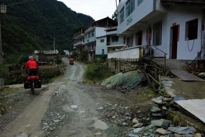 Die Straßen waren nicht immer in Top Zustand