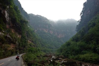 Beeindruckende Landschaft mit Dschungel Feeling