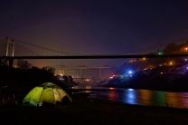 Tolle Atmosphäre da macht Zelten Spaß