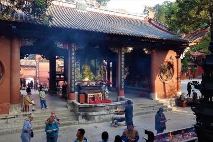 Der Hongfu Tempel