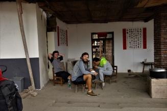 Qang hat uns dann noch zum Mittag Eingeladen
