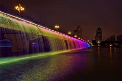 Regenbogen Brücke in Nanning