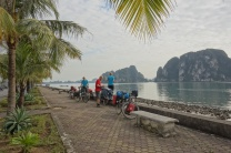Ankunft in Ha Long