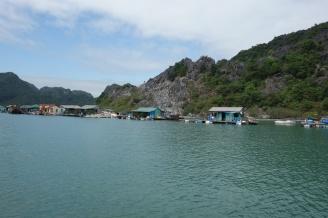 Schwimmende Fischerdörfer