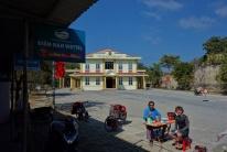Entspanntes Mittagessen vor der Ausreise aus Vietnam.