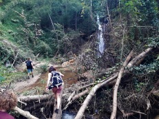 Jan führte uns zum Wasserfall