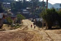 Eines der wenigen Dörfer welches wir passierten