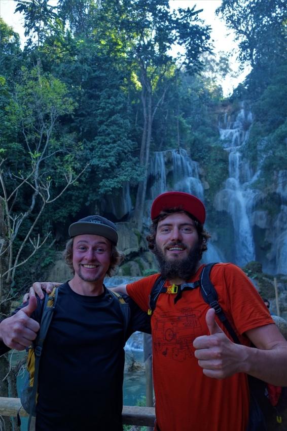 Am Kuangsi Wasserfall