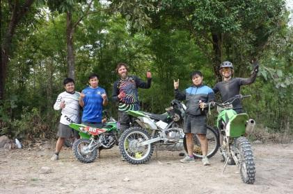 Wir hatten viel Spaß mit den verrückten Thailändern